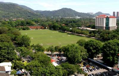 Park for all: Polo Ground is popularly used for football matches.