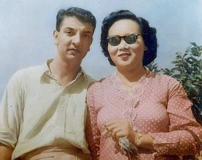 Lovebirds : Eusoffe and Haseenah in their younger days