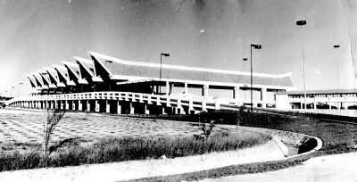 Point of arrival: The Penang Airport in its early days.