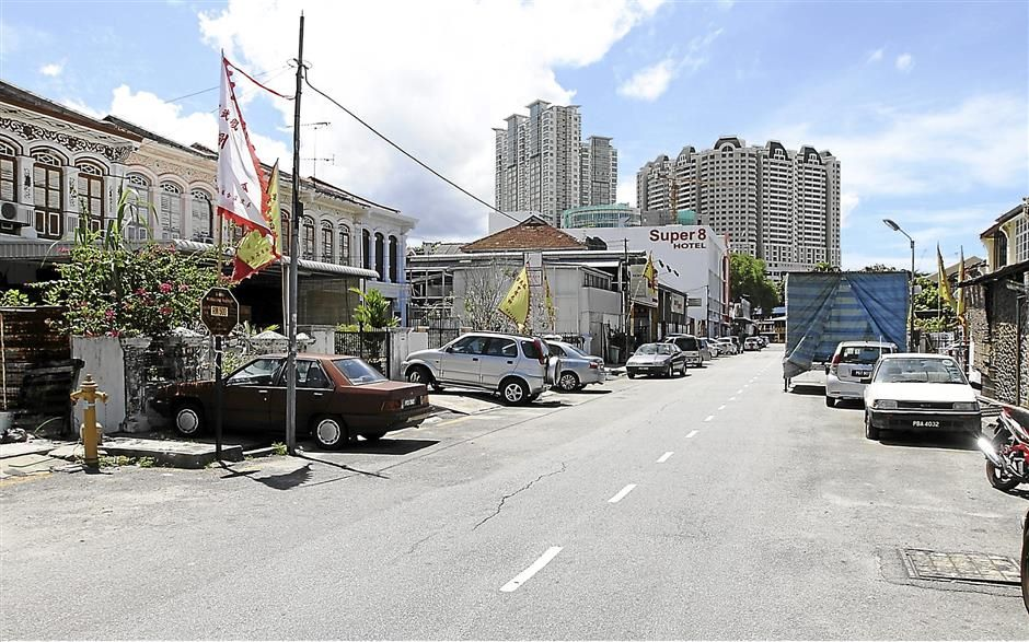 Brief caption: Tye Sin Street in Penang.  (Charles Mariasoosay - 09/10/2013)