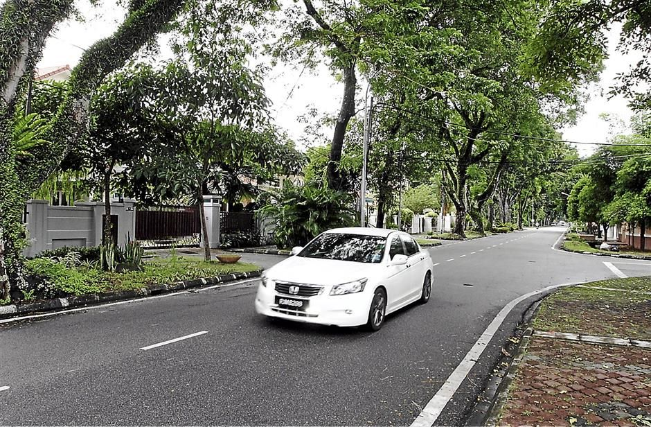 Historic: The land on which the Jalan D.S. Ramanathan passes through was formerly the Ayer Rajah Estate.