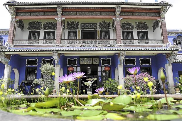The Cheong Fatt Tze mansion won Unesco's 'Most Excellent' Heritage Conservation Award in 2000. - filepic